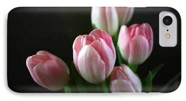 Tulips On Display IPhone Case by Cathy Dee Janes