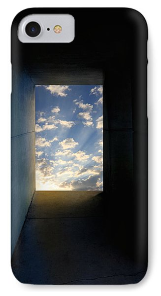 Tunnel With Light IPhone Case