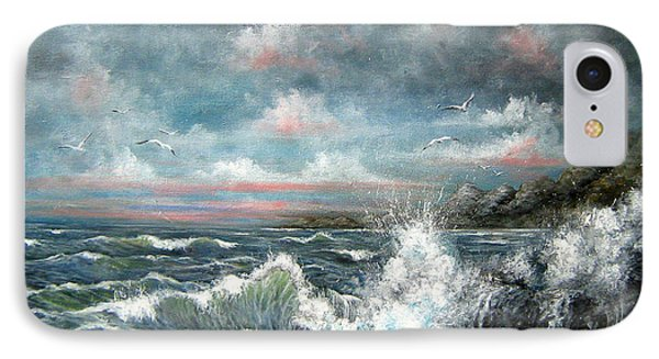 Turning Tide IPhone Case by Patrice Torrillo