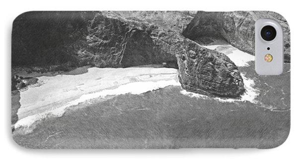 Turtle Head Sea Cave Napali Coast IPhone Case by Frank Wilson