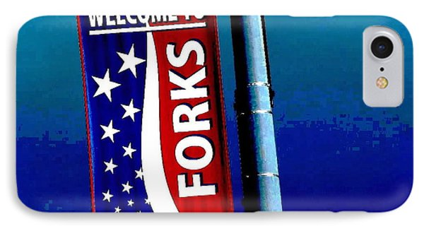 Twilight In Forks Wa 3 IPhone Case by Sadie Reneau