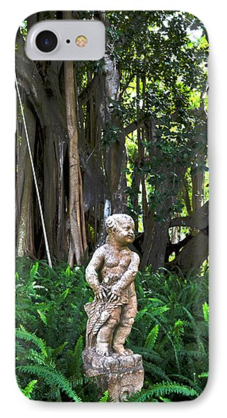 Twilight In The Garden IPhone Case by Timothy Lowry