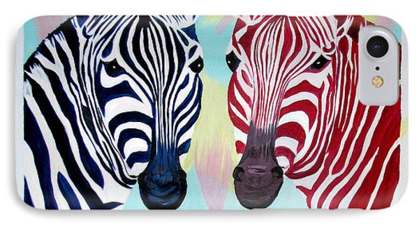 Twin Zs Phone Case by Phyllis Kaltenbach