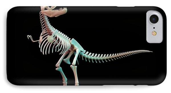 Tyrannosaurus Rex Skeleton IPhone Case by Andrzej Wojcicki