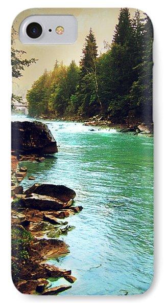 Ukrainian River IPhone Case by Kate Black