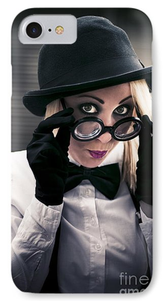 Undercover Secret Agent IPhone Case by Jorgo Photography - Wall Art Gallery