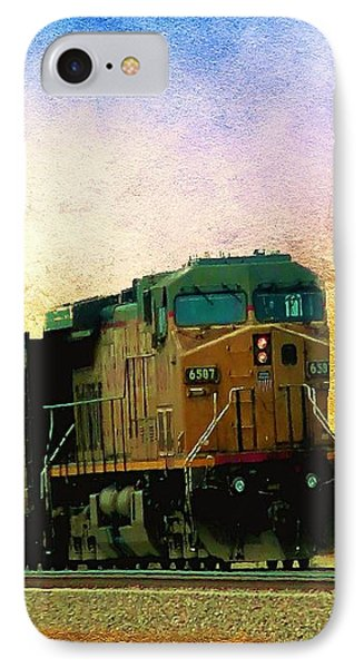 Union Pacific Coal Train IPhone Case