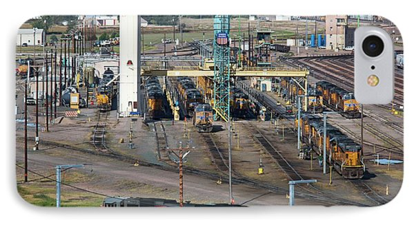 Union Pacific Railroad's Bailey Yard IPhone Case by Jim West