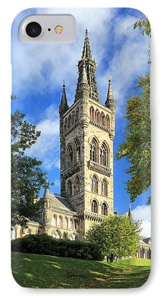University Of Glasgow IPhone Case by Grant Glendinning