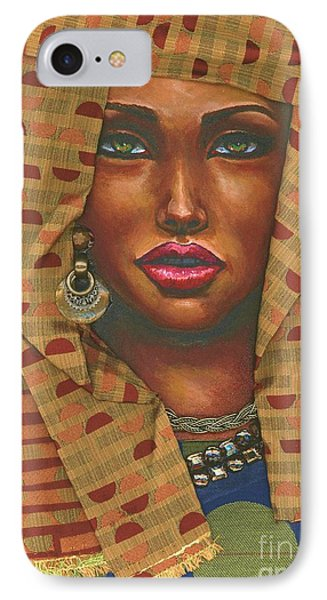 Headwrap IPhone Case by Alga Washington