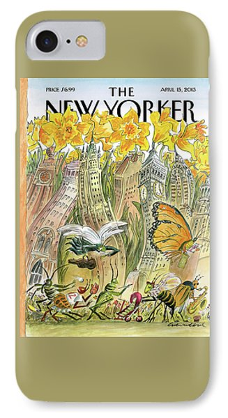 New Yorker April 15th, 2013 IPhone Case