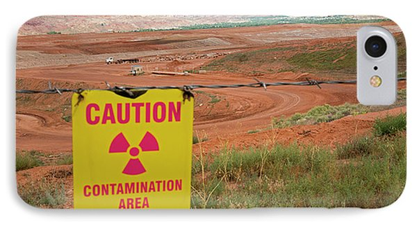 Uranium Mill Clean Up Project IPhone Case by Jim West