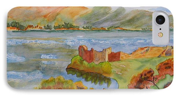 Urquhart Castle IPhone Case by Warren Thompson