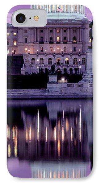 Us Capitol Building At Dawn, Washington IPhone Case