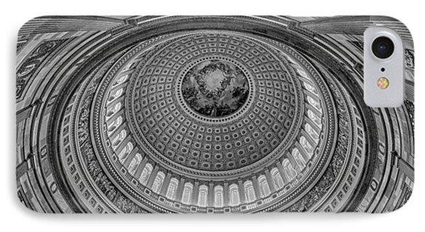 Us Capitol Rotunda Phone Case by Susan Candelario