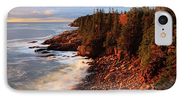 Usa, Maine, Acadia National Park, Ocean IPhone Case