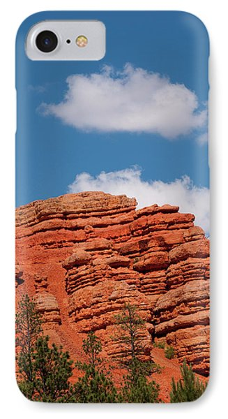 Usa Utah, Red Canyon In Dixie National IPhone Case by Lee Foster