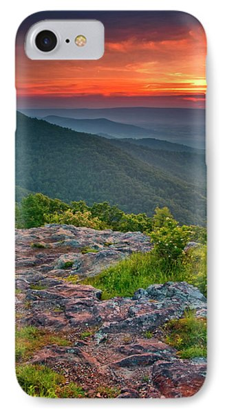 Usa, Virginia, Franklin Cliff Overlook IPhone Case by Jaynes Gallery