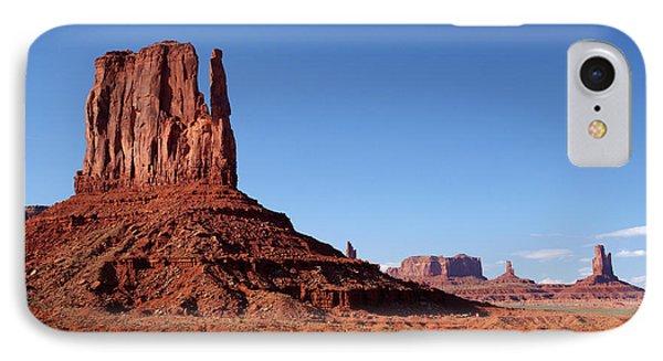 Utah Arizona Border, Navajo Nation IPhone Case by David Wall