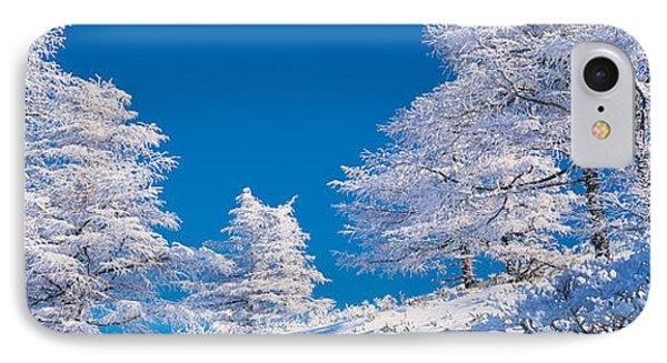 Utsukushigahara Nagano Japan IPhone Case by Panoramic Images