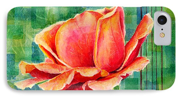 Valentine Rose IPhone Case by Hailey E Herrera