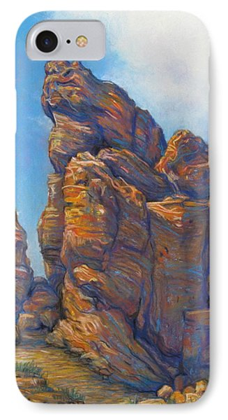 Valley Of Fire Phone Case by Tanja Ware