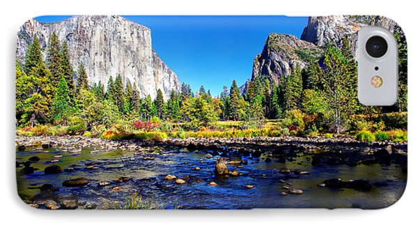 Valley View Yosemite National Park IPhone Case