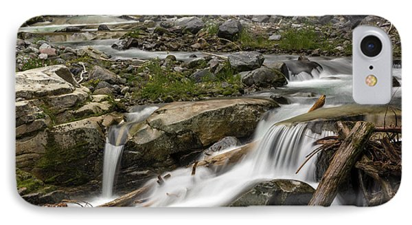 IPhone Case featuring the photograph Van Trump Creek Mount Rainier National Park by Bob Noble Photography