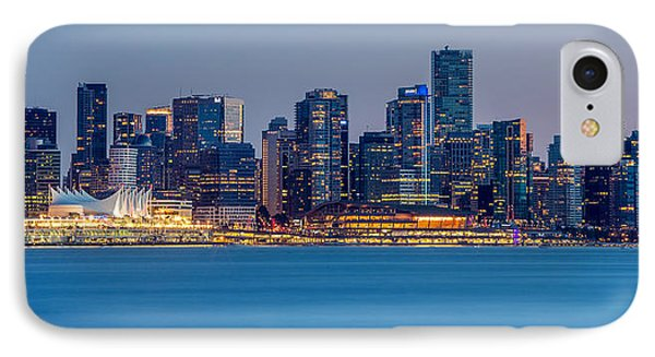 Vancouver City Panorama IPhone Case by Pierre Leclerc Photography