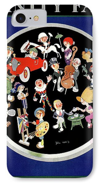 Vanity Fair Cover Featuring Caricatures Doing IPhone Case by Jr., John Held