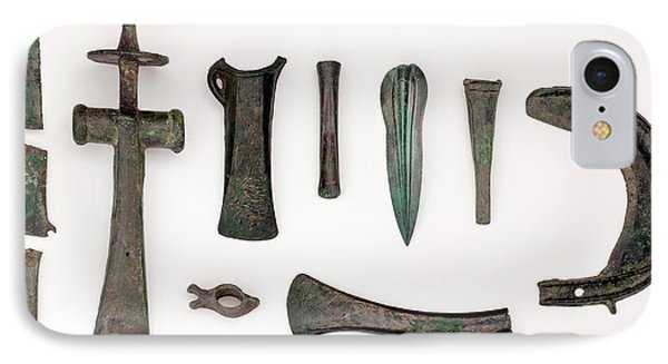 Variety Among Bronze Age Tools IPhone Case