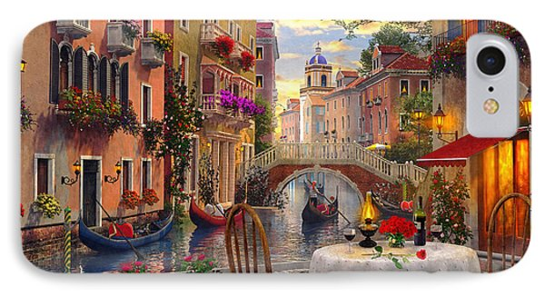 Venice Al Fresco IPhone Case by Dominic Davison