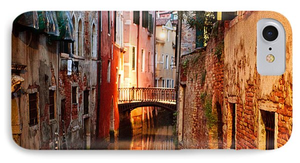 Venice Italy Canal IPhone Case by Kim Fearheiley