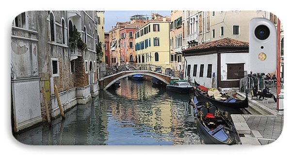 IPhone Case featuring the photograph Venice Italy by John Jacquemain