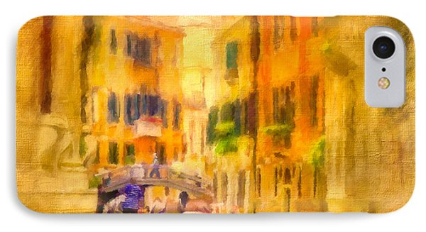 Venice Waterway No. 4 Phone Case by Jane Fiala