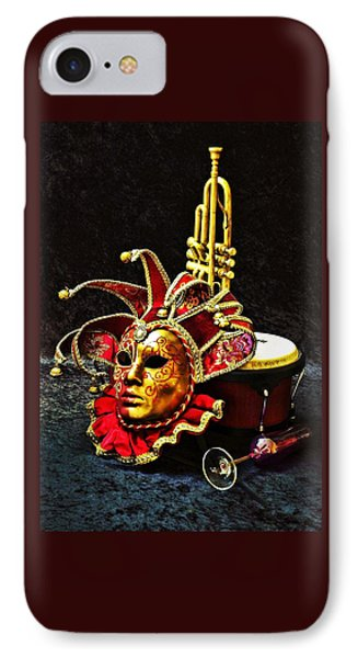 IPhone Case featuring the photograph Venitian Joker 2 by Elf Evans