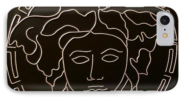 Versace Medusa Head Phone Case by Peter Virgancz