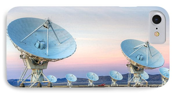 Very Large Array Of Radio Telescopes  Phone Case by Bob Christopher