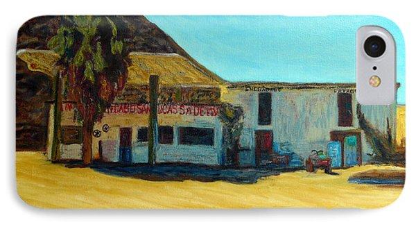 Vieja Gasolinera De Cabo IPhone Case by Gerhardt Isringhaus