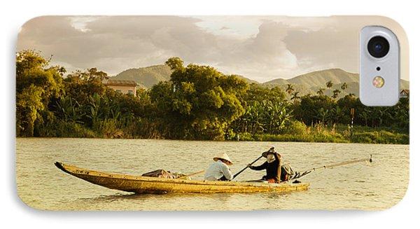 Vietnamese Fishermen Phone Case by Fototrav Print