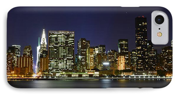 View From Gantry Plaza State Park Phone Case by Theodore Jones