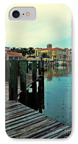View From The Boardwalk  IPhone Case by K Simmons Luna