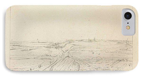 View Of The Countryside Southeast Of Nijmegen IPhone Case by Derk Anthony Van De Wart