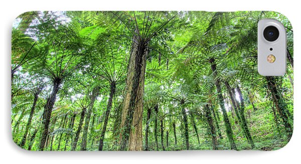 View Of Vegetation In Bali Botanical IPhone Case by Jaynes Gallery