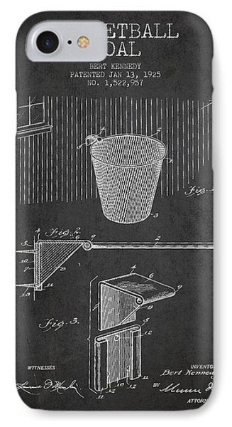 Vintage Basketball Goal Patent From 1925 IPhone Case