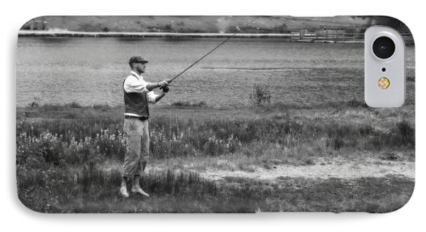 IPhone Case featuring the photograph Vintage Fly Fishing by Ron White