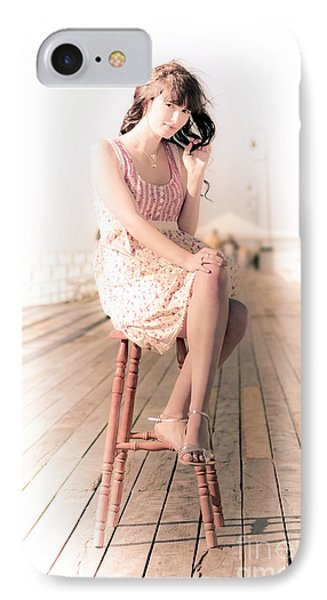 Vintage Lifestyle Portrait IPhone Case by Jorgo Photography - Wall Art Gallery