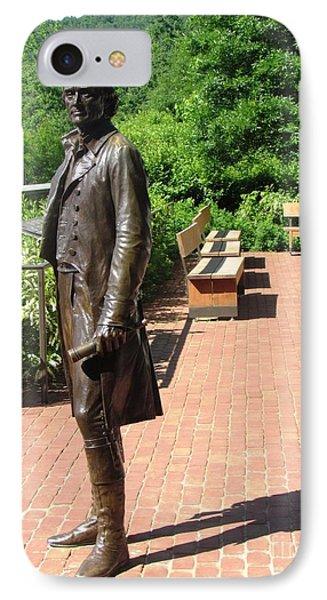 Virgina Monticello Jefferson IPhone Case by Ted Pollard