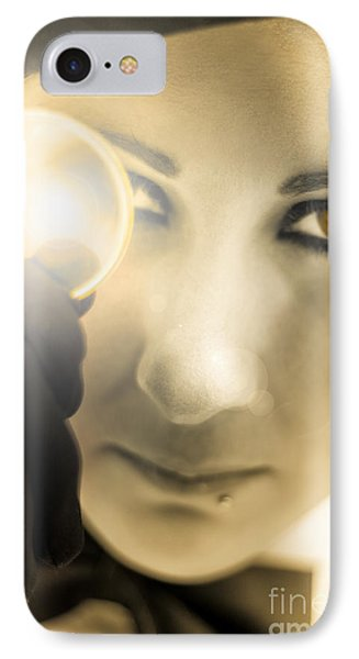 Visions Of Gold IPhone Case