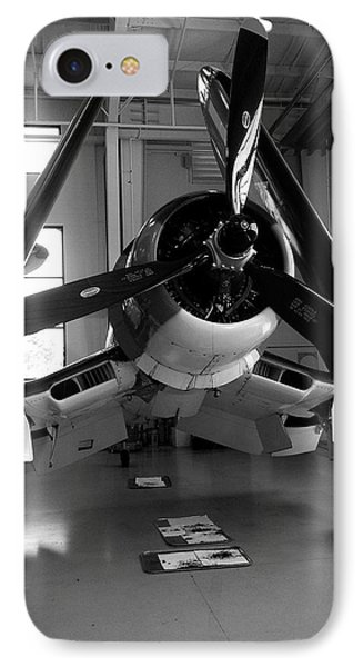 IPhone Case featuring the photograph Vought Fg-1d Corsair by Rebecca Davis